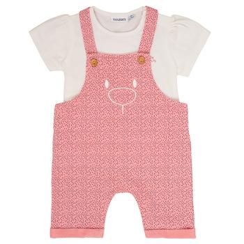 Oblačila Deklice Otroški kompleti Noukie's MINO Rožnata