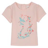 Oblačila Deklice Majice s kratkimi rokavi Carrément Beau NOLAN Rožnata