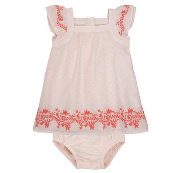 Oblačila Deklice Kratke obleke Carrément Beau SAMY Rožnata