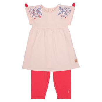 Oblačila Deklice Otroški kompleti Carrément Beau AIMEE Rožnata