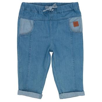 Oblačila Dečki Kavbojke slim Carrément Beau MILOUD Modra