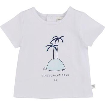 Oblačila Dečki Majice s kratkimi rokavi Carrément Beau MARTINEZ Bela