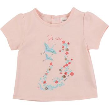 Oblačila Deklice Majice s kratkimi rokavi Carrément Beau JUSTINE Rožnata