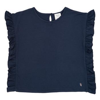 Oblačila Deklice Majice s kratkimi rokavi Carrément Beau KAMILLIA Modra