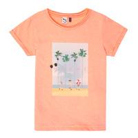 Oblačila Deklice Majice s kratkimi rokavi 3 Pommes LEA Oranžna