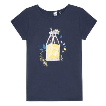 Oblačila Deklice Majice s kratkimi rokavi 3 Pommes LOGAN Modra