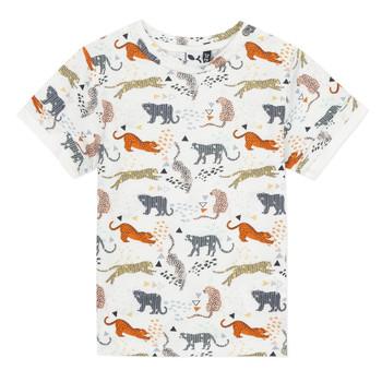 Oblačila Dečki Majice s kratkimi rokavi 3 Pommes ARIANE Oranžna