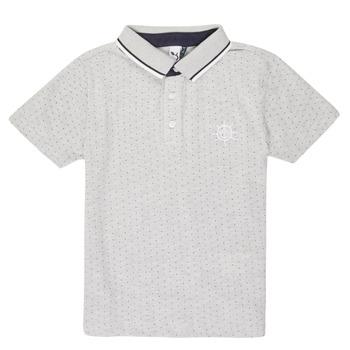 Oblačila Dečki Polo majice kratki rokavi 3 Pommes MADYSON Bela
