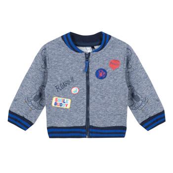 Oblačila Dečki Puloverji 3 Pommes VALENTIN Modra