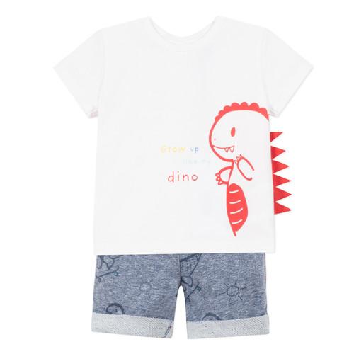 Oblačila Dečki Otroški kompleti 3 Pommes ANOUCK Bela