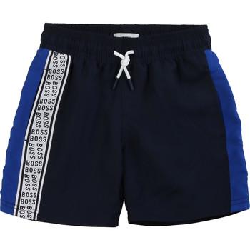 Oblačila Dečki Kratke hlače & Bermuda BOSS MOZEL Modra