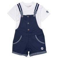 Oblačila Dečki Otroški kompleti Timberland GABINO Modra