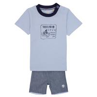 Oblačila Dečki Otroški kompleti Timberland AXEL Modra