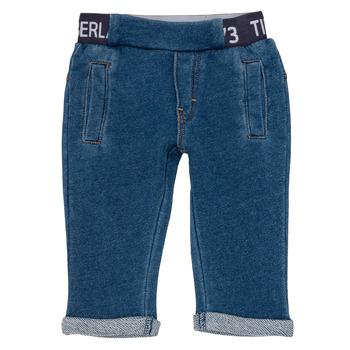 Oblačila Dečki Hlače s 5 žepi Timberland VALENTIN Modra