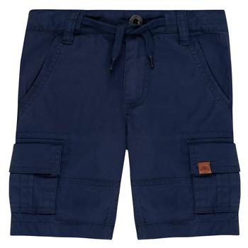 Oblačila Dečki Kratke hlače & Bermuda Timberland LUKA Modra