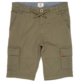 Oblačila Dečki Kratke hlače & Bermuda Timberland TAO Zelena