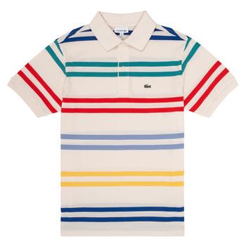 Oblačila Dečki Polo majice kratki rokavi Lacoste HENRI Večbarvna