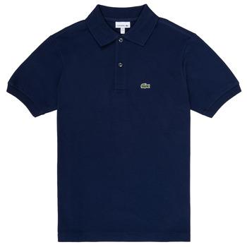 Oblačila Dečki Polo majice kratki rokavi Lacoste LOLLA Modra