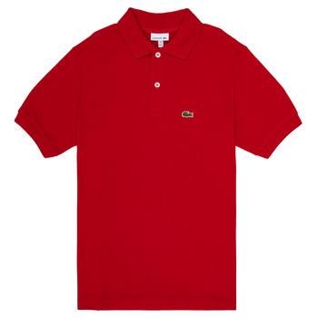 Oblačila Dečki Polo majice kratki rokavi Lacoste ANAICK Rdeča