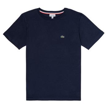 Oblačila Dečki Majice s kratkimi rokavi Lacoste JUSTYNE Modra