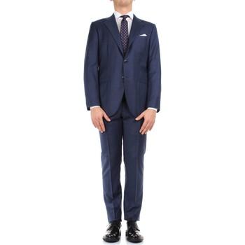 Oblačila Moški Obleka Kiton 0302S15/25 Blue