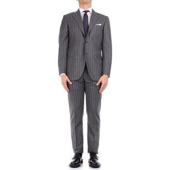 Oblačila Moški Obleka Kiton 0252S08/2 Grey