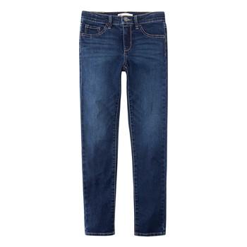 Oblačila Dečki Jeans skinny Levi's 510 SKINNY FIT Modra