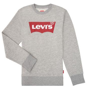Oblačila Dečki Puloverji Levi's BATWING CREWNECK Siva