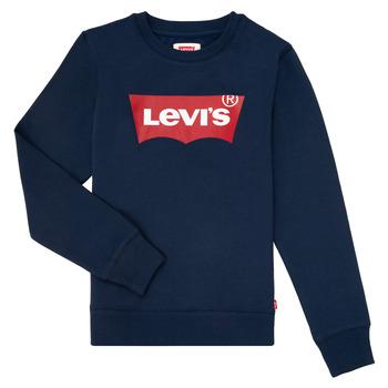 Oblačila Dečki Puloverji Levi's BATWING CREWNECK Modra