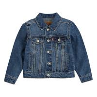 Oblačila Dečki Jeans jakne Levi's TRUCKER JACKET Modra