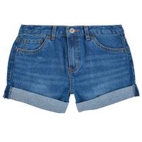 Oblačila Deklice Kratke hlače & Bermuda Levi's GIRLFRIEND SHORTY SHORT Modra