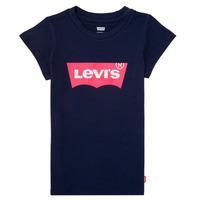 Oblačila Deklice Majice s kratkimi rokavi Levi's BATWING TEE Modra