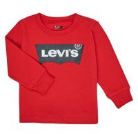 Oblačila Dečki Majice z dolgimi rokavi Levi's BATWING TEE LS Rdeča