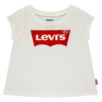 Oblačila Deklice Majice s kratkimi rokavi Levi's BATWING TEE Bela