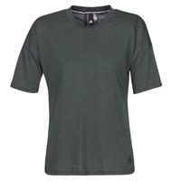 Oblačila Ženske Majice s kratkimi rokavi adidas Performance W MH 3S Tee Črna