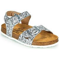Čevlji  Deklice Sandali & Odprti čevlji Plakton LISA Srebrna