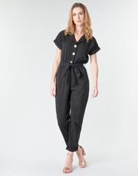 Oblačila Ženske Kombinezoni Betty London MYRTIL Črna