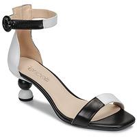 Čevlji  Ženske Sandali & Odprti čevlji Fericelli MARC Črna / Bela