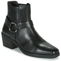 Čevlji  Ženske Gležnjarji Vagabond Shoemakers SIMONE Črna