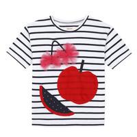 Oblačila Deklice Majice s kratkimi rokavi Catimini KUSY Bela