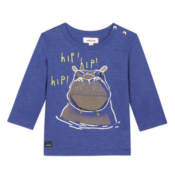 Oblačila Dečki Majice s kratkimi rokavi Catimini MEYER Modra