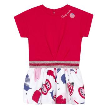 Oblačila Deklice Kratke obleke Catimini DAMIANO Rdeča