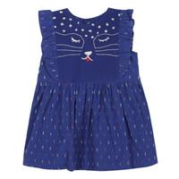 Oblačila Deklice Kratke obleke Catimini CHARLES Modra
