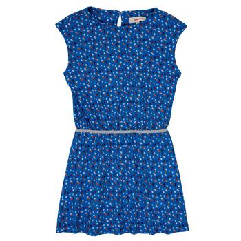 Oblačila Deklice Kratke obleke Catimini SWANY Modra