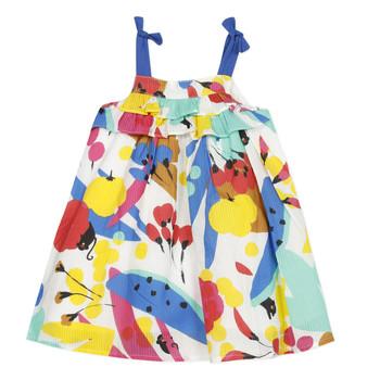 Oblačila Deklice Kratke obleke Catimini THEO Bela