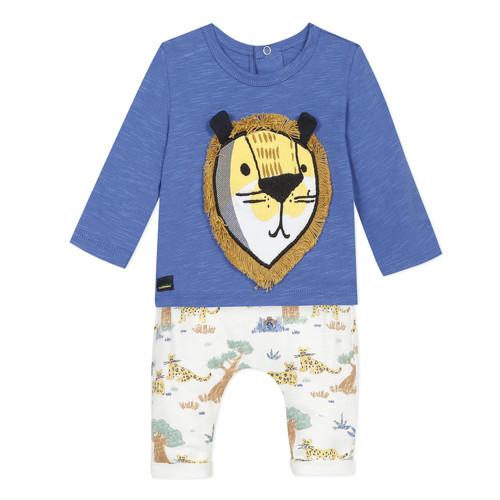 Oblačila Dečki Otroški kompleti Catimini ULYSSE Bela