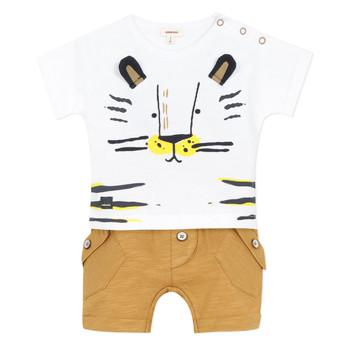 Oblačila Dečki Otroški kompleti Catimini AYDEN Bež