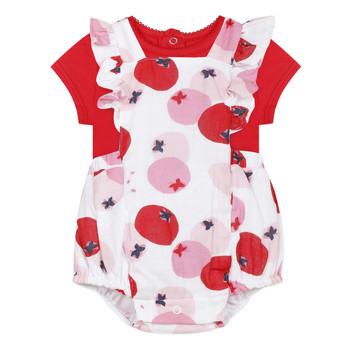 Oblačila Deklice Otroški kompleti Catimini LUCIEN Rdeča