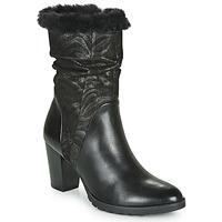 Čevlji  Ženske Mestni škornji    Caprice LOTIMA Črna