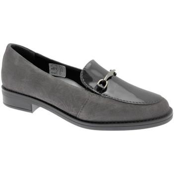 Čevlji  Ženske Mokasini Calzaturificio Loren LOX5907gr grigio